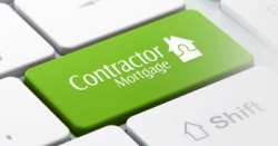 Contractor Mortgage Keyboard Button