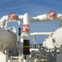 pipelines in a refinery